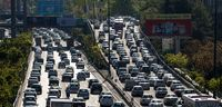 افزایش ۳۵درصدی ترافیک در پایتخت