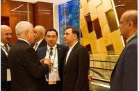 آخوندی با رییس جمهور ترکمنستان دیدار کرد