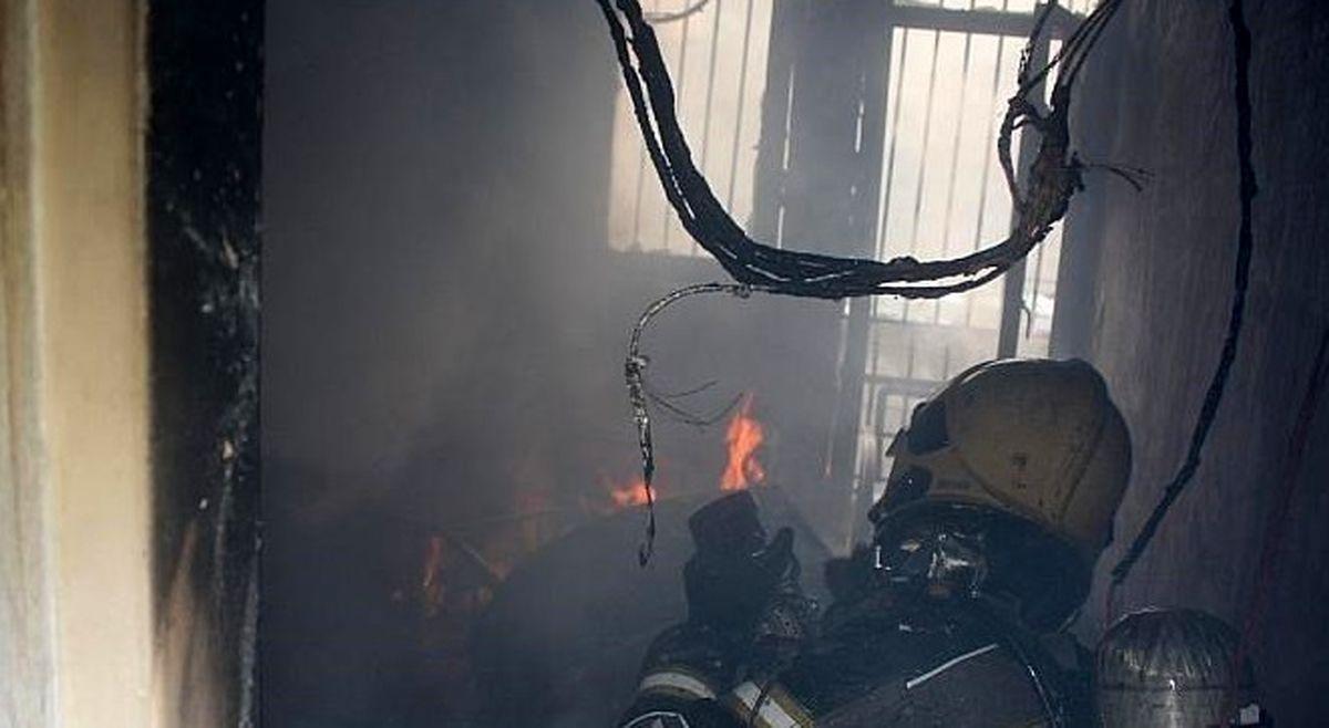 آتشسوزی کارگاه طلاسازی در بازار تهران +عکس