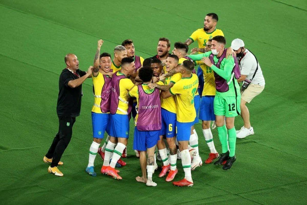طلای المپیک به طلایی پوشان فوتبال برزیل رسید