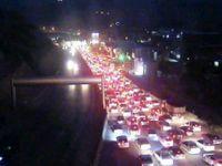 ترافیک فوقسنگین در ورودی شهر تهران
