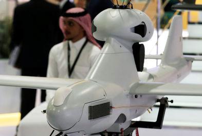 نمایش پهپاد در نمایشگاه بین المللی تسلیحات EDEX 2018 در مصر