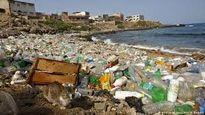 دریای زباله در ساحل خزر!