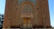 گنبد سرخ سلجوقیها در مراغه +عکس