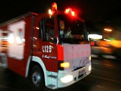 آتشسوزی در مهد کودکی در خیابان سعادت آباد