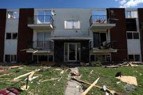 ببینید گردباد با کانادا چه کرده! +تصاویر