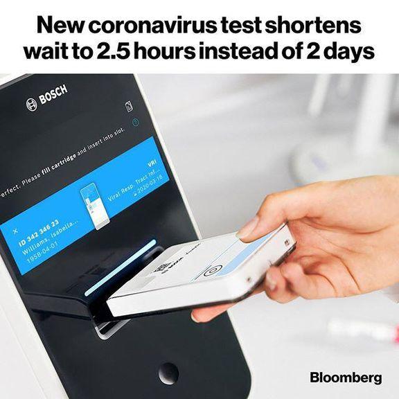 ساخت دستگاه پیشرفته تشخیص کرونا توسط شرکت «بوش»/ تشخیص کووید19 در کمتر از 2.5ساعت
