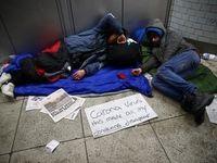 وضعیت بغرنج بیخانمانها در روزهای کرونا +عکس