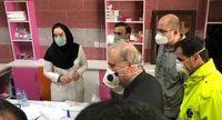 بازدید وزیر بهداشت از دانشجویان در قرنطینه کرونا +تصاویر