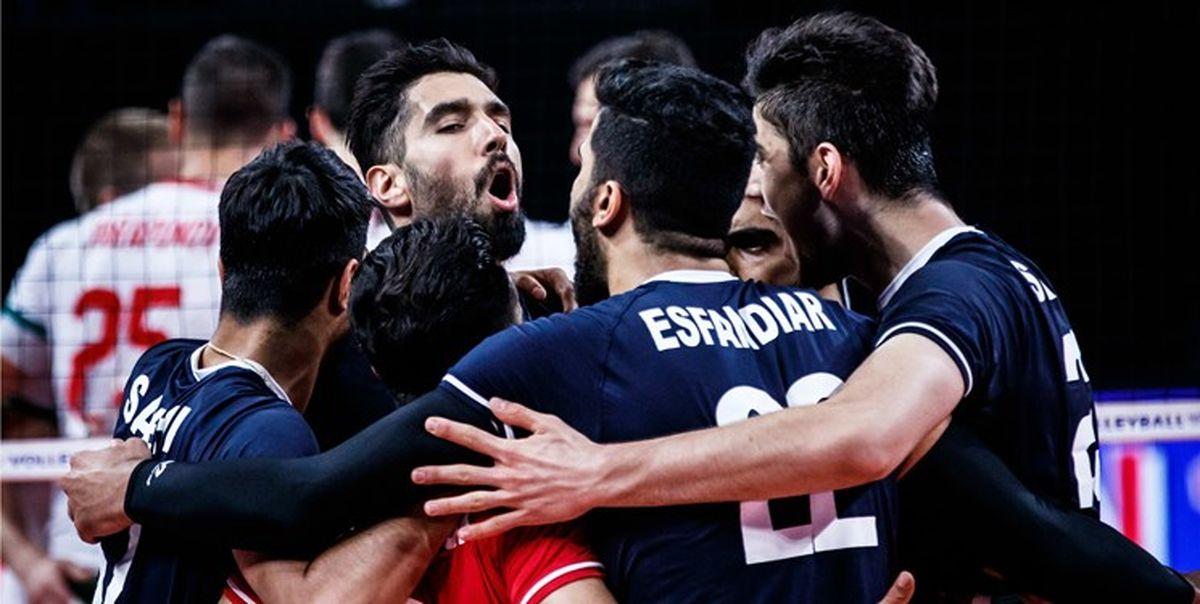 تیم ملی والیبال بلغارستان هم مقابل ایران زانو زد