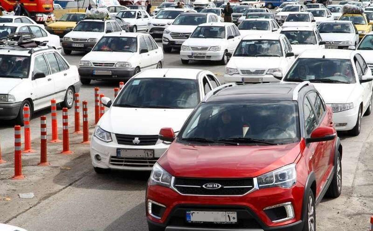 انسداد هراز ،ترافیک سوادکوه را سنگین کرد