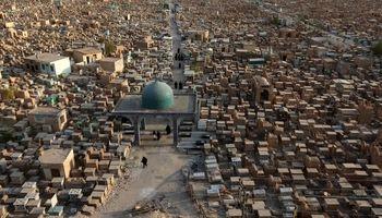 بزرگترین قبرستان جهان! +تصاویر