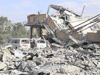 آثار به جا مانده حمله موشکی آمریکا به سوریه +عکس