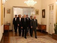 دیدار لاریجانی با ظریف در وزارت خارجه