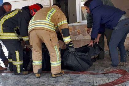 اولین تصاویر از اجساد قربانیان سقوط هواپیما