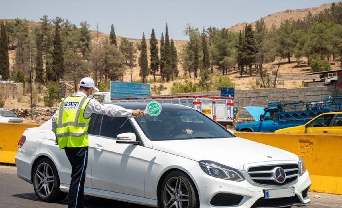 جریمه یک میلیونی در انتظار خودروها در خروجی های تهران
