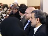 حضور ظریف و احمدینژاد در جلسه مجمع تشخیص مصلحت +عکس