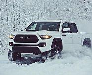 تویوتا خودرویی برای عبور از برف +عکس