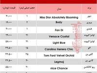 قیمت انواع عطر جیبی زنانه +جدول