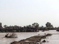 سیل در خوزستان +تصاویر
