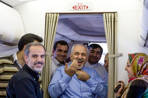 خندههای ظریف در هواپیما +تصاویر