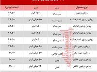 قیمت انواع روغن زیتون در بازار چند؟ +جدول
