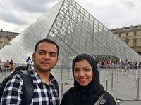 اخراج زوج مسلمان آمریکایی از هواپیما +عکس