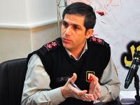 حریق در پاساژی در غرب تهران