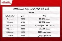قیمت خودرو سمند در تهران +جدول