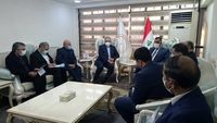 وزیر نیرو با رییس بانک مرکزی عراق دیدار کرد
