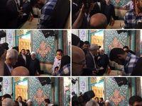 شرکت حسن روحانی در انتخابات +عکس
