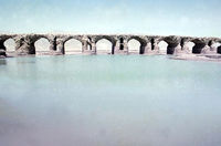پل تاریخی لاتیدان طولانی ترین پل ایران +عکس