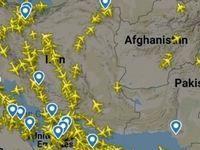 افزایش پروازهای عبوری از ایران پس از تنش پاکستان و هند