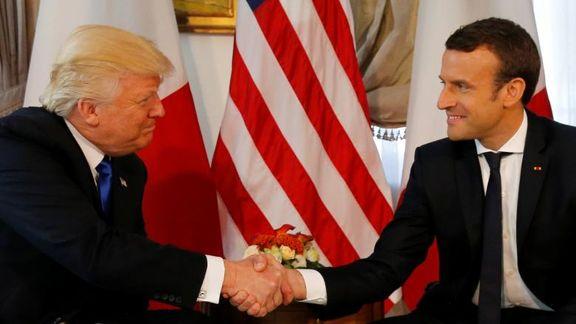 دست دادنهای عجیب ترامپ +فیلم