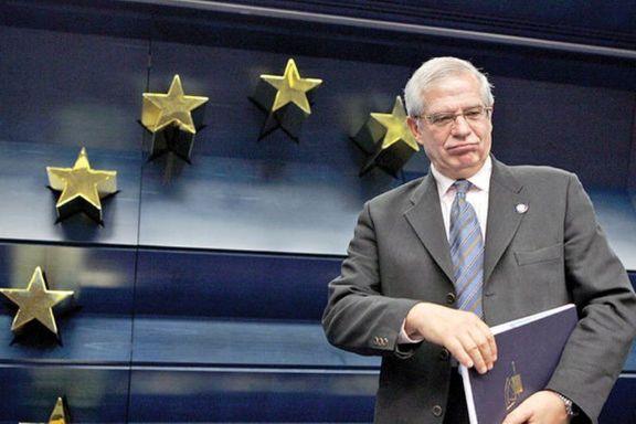 بورل بعد از سفر تهران، جمعه به واشنگتن میرود