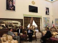 دیدار سفیر انگلیس با سفیر ایران در عراق